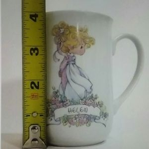 PRECIOUS MOMENTS 1990 Porcelain Coffee Cup